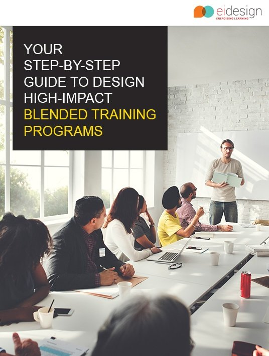 Free Ebook: Get Your Step-Βy-Step Guide To Design High-Impact Blended Training Programs