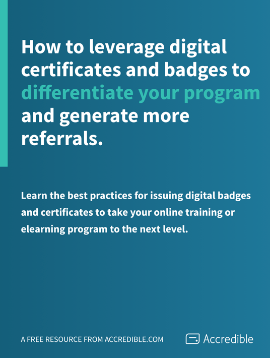 Free Ebook: Get a free eBook on How To Leverage Digital Certificates And Badges