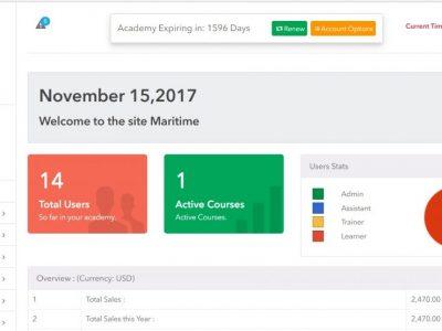 Screenshot of Create Online Academy
