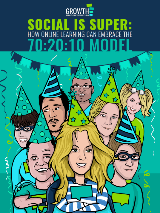 Social Is Super: How Online Learning Can Embrace The 70:20:10 Model