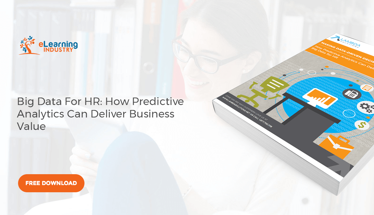 [Free eBook] Big Data For HR: How Predictive Analytics Can Deliver Business Value