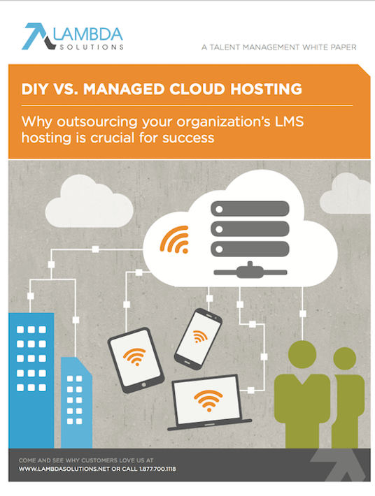 Free Ebook: Free eBook: DIY Vs. Managed Cloud Hosting, by Lambda Solutions