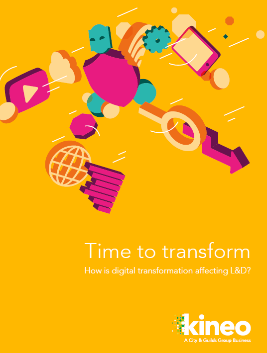 Free Ebook: Time To Transform: How Is Digital Transformation Affecting L&D?