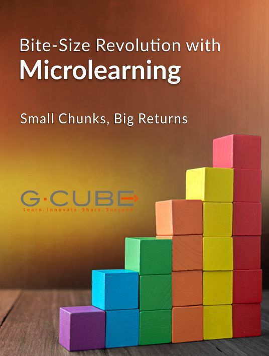 Free Ebook: Bite-Size Revolution With Microlearning - Small Chunks, Big Returns