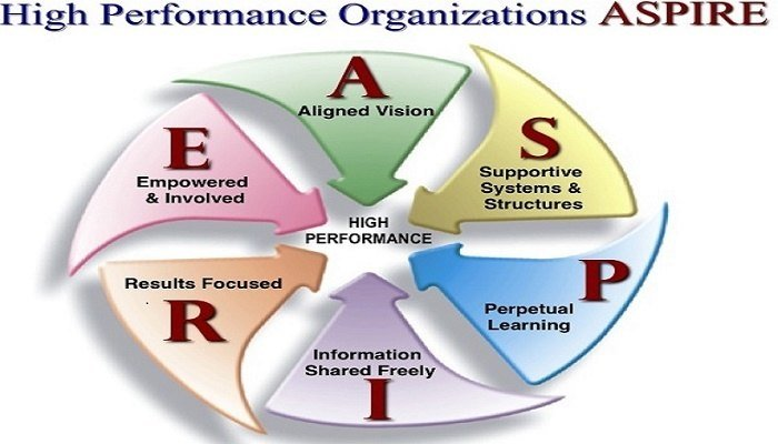 High Performance Organizations--Credit: www.pinterest.com