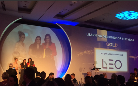 LEO Wins Company Of The Year At The 2017 Learning Technologies Awards