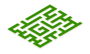 Green Labyrinth logo