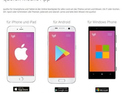Screenshot of Quofox