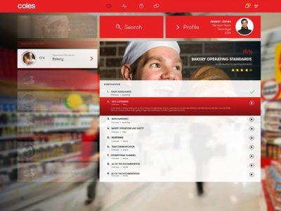 Screenshot of TMRW Hub