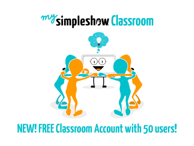 """mysimpleshow Kicks Off A New Era Of Blended Learning With Free """"Classroom"""""""
