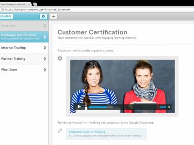 Screenshot of Learndot
