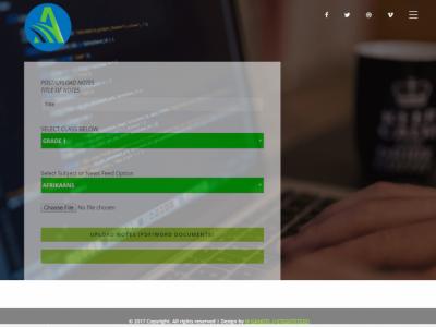 Screenshot of AlterblissEdu
