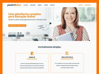 Screenshot of Pauta Online
