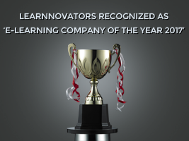 Learnnovators Is 'E-Learning Company Of The Year 2017'