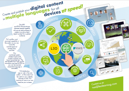 LEO And RWS Bring Digital Content Solution To Market