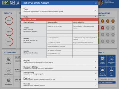 Screenshot of AllenComm Learning Portal