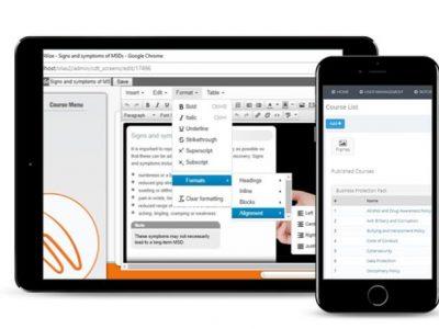 Screenshot of WorkWize Author
