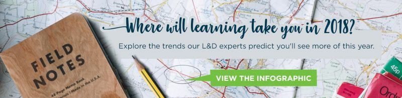 2018 Instructional Design Trends And Learning Trends The Journey Of Learning Elearning Industry