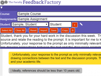 New Feedback Generator Software Saves eLearning Faculty 8+ Hours/Week