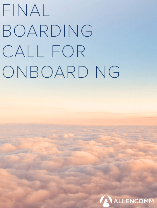 Free Ebook: Free eBook: Final Boarding Call For Onboarding