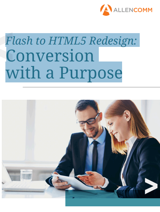 Flash To HTML5 Redesign: Conversion With A Purpose