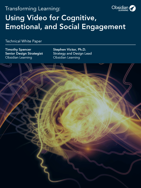 Transforming Learning: Using Video For Cognitive, Emotional, And Social Engagement