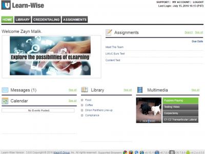 Screenshot of Learn-WiseGo