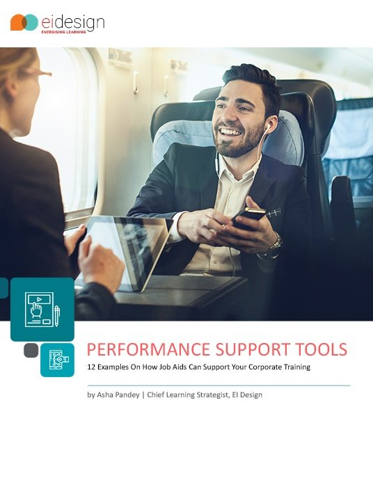 Free Ebook: 12 Examples On How PSTs Or Job Aids Can Support Your Corporate Training