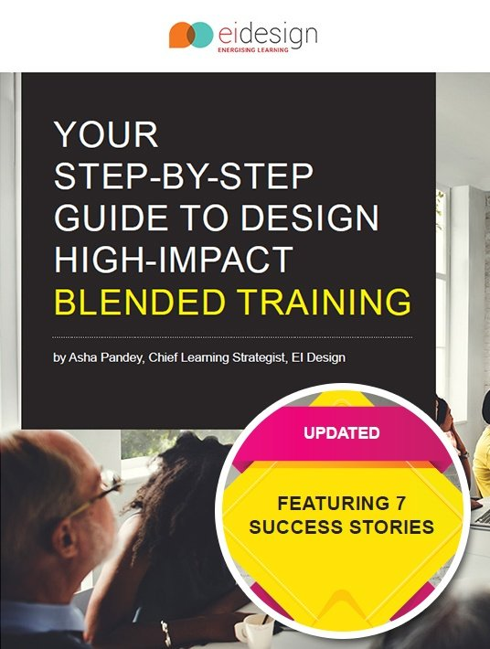 Free Ebook: Your Step-By-Step Guide To Design High-Impact Blended Training Programs – Featuring 7 Success Stories