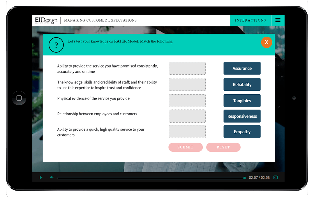 Microlearning - Interactive Video