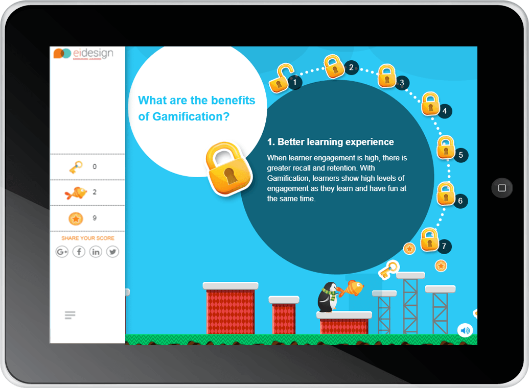 Microlearning - Interactive InfoGraphic