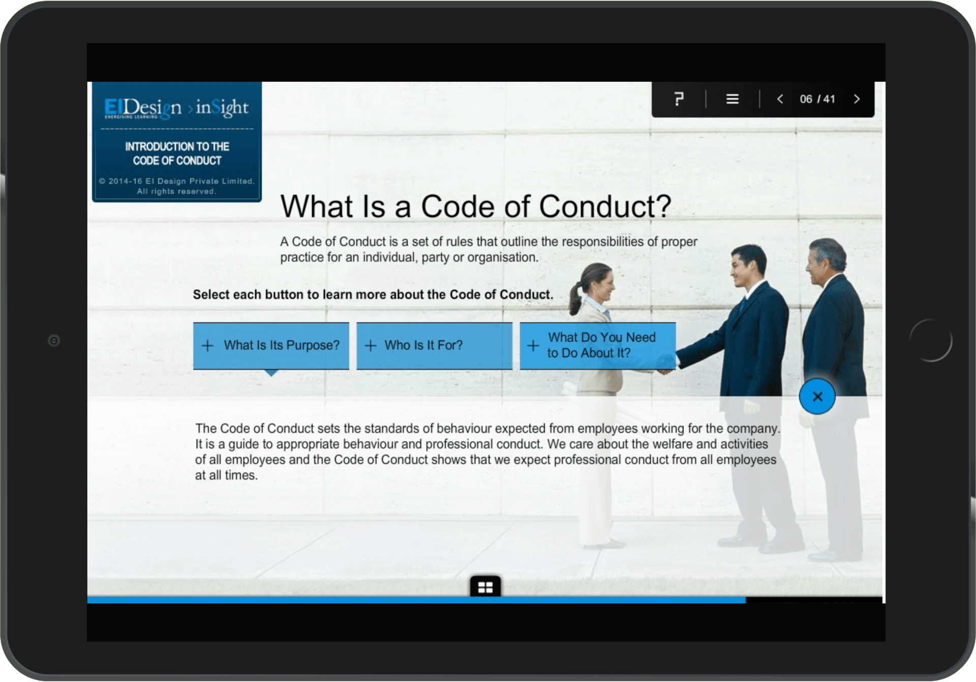Compliance program Case Study - Context Setting