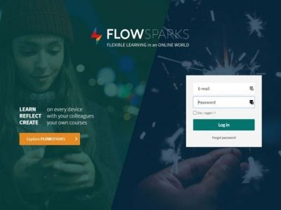 Screenshot of FLOWSPARKS