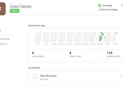 Screenshot of Stepik