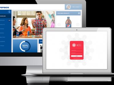 Screenshot of elli Learning Portal