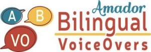 Amador Bilingual Voiceovers logo