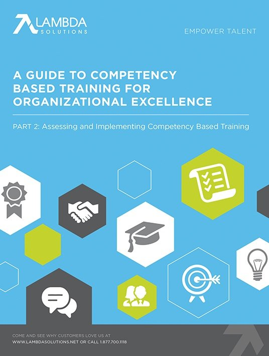 Free Ebook: A Guide To Competency Based Training For Organizational Excellence – Part 2