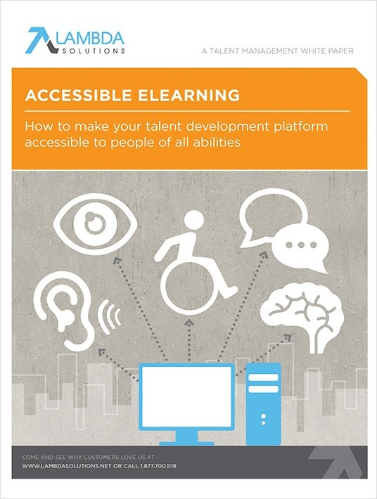Free Ebook: Accessible eLearning