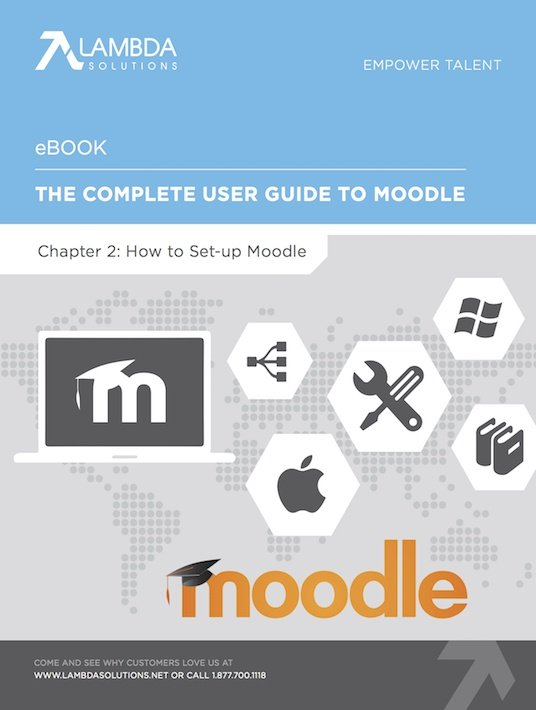 Free Ebook: The Complete User Guide To Moodle Chapter 2