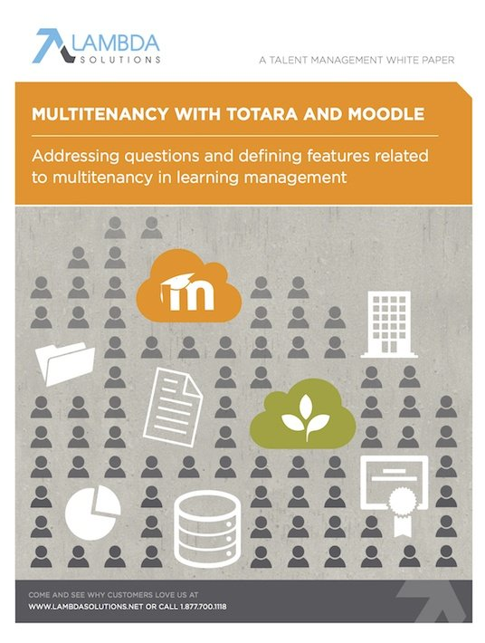 Free Ebook: Multitenancy With Totara And Moodle