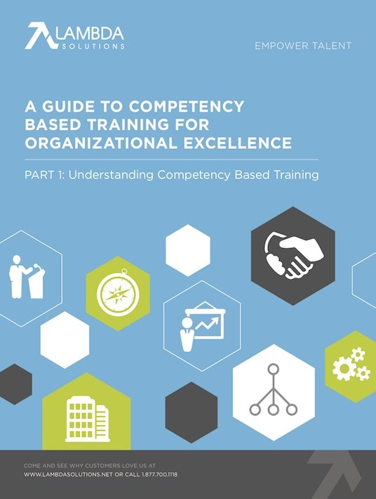 Free Ebook: A Guide To Competency Based Training For Organizational Excellence – Part 1