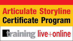 Articulate Storyline Next Level Design Certificate