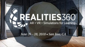 2018 Realities360 Pre-Conference Workshops