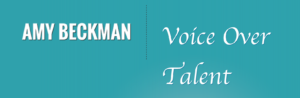 Amy Beckman Voiceovers logo