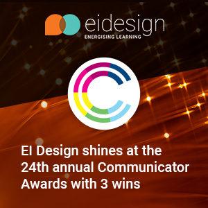 EI Design Wins 3 Communicator Awards image