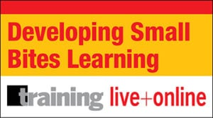 Developing Small Bites Learning Certificate