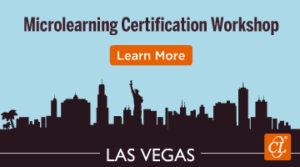 Microlearning Certification Workshop 2018 – Las Vegas