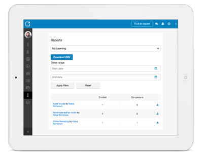 Screenshot of Opentute