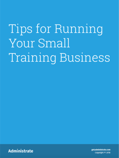 Tips For Running Your Small Training Business