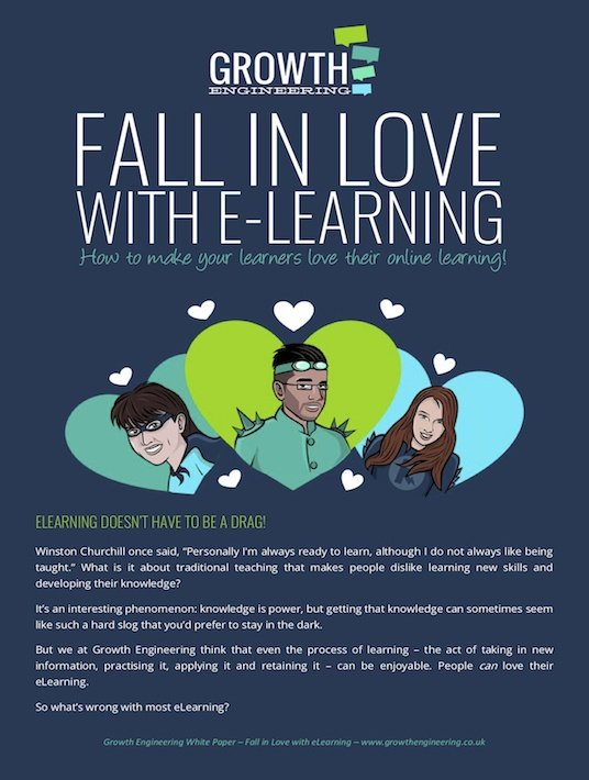 Free Ebook: Fall In Love With eLearning: How To Make Your Learners Love Their Online Learning
